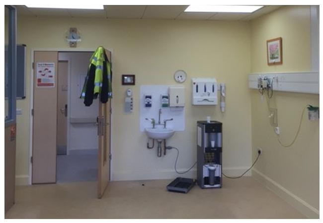 ICU unit Connolly Hospital