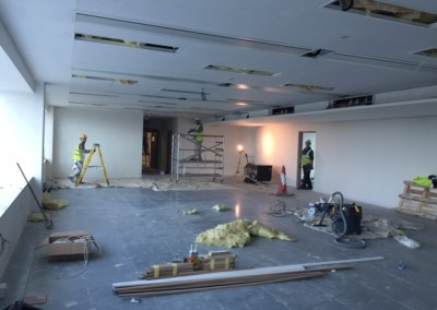 Commercial painting Dublin Airport